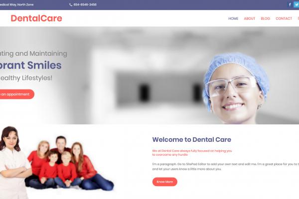 dentista sitebuilder xlogic
