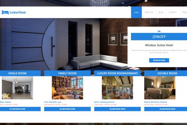 hotel sitebuilder xlogic