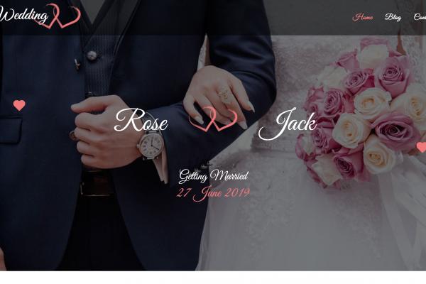 wedding sitebuilder xlogic
